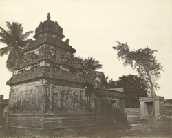 North-west view of Tripurantakesvami Temple, Great Conjeeveram, Chingleput District